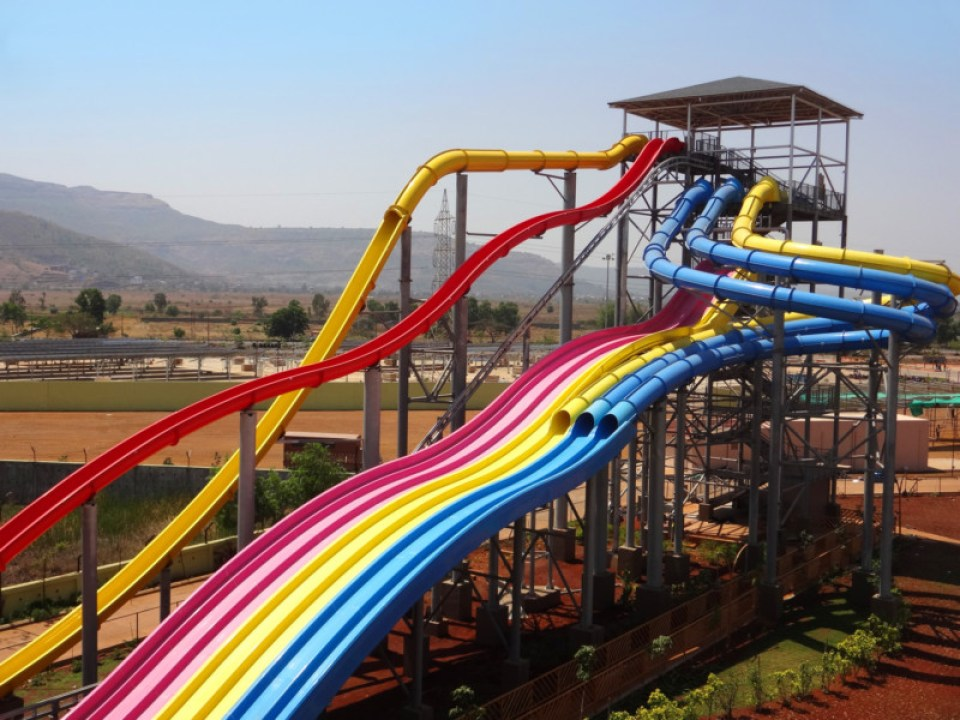 Whizzard and Thrill Slides - Wet N Joy Waterpark