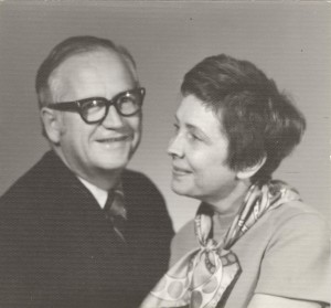 Buzz Price and wife Annie in the 1970s