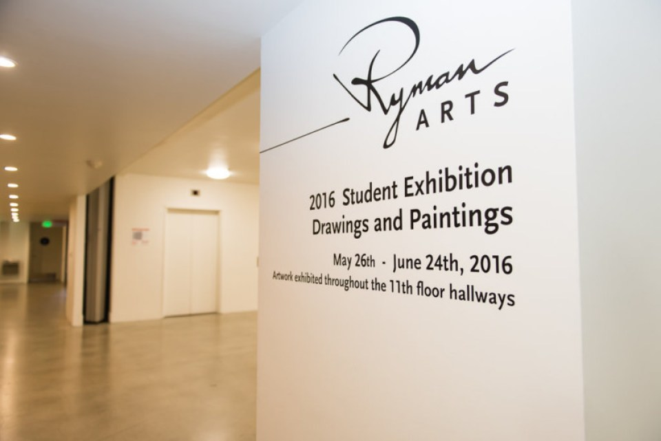 2016 Grad - Ryman Arts Exhibit