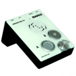 Barix one touch IP paging system. Courtesy LineQ.