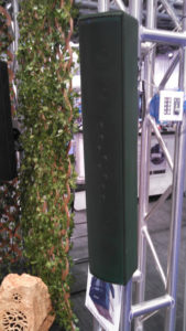 XT-Spike Line Array Speaker. Photo by Joe Kleiman.