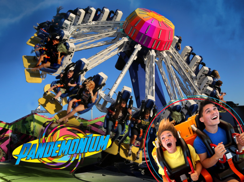 Pandemonium_in_Action inpark magazine six flags announces 2018 attractions