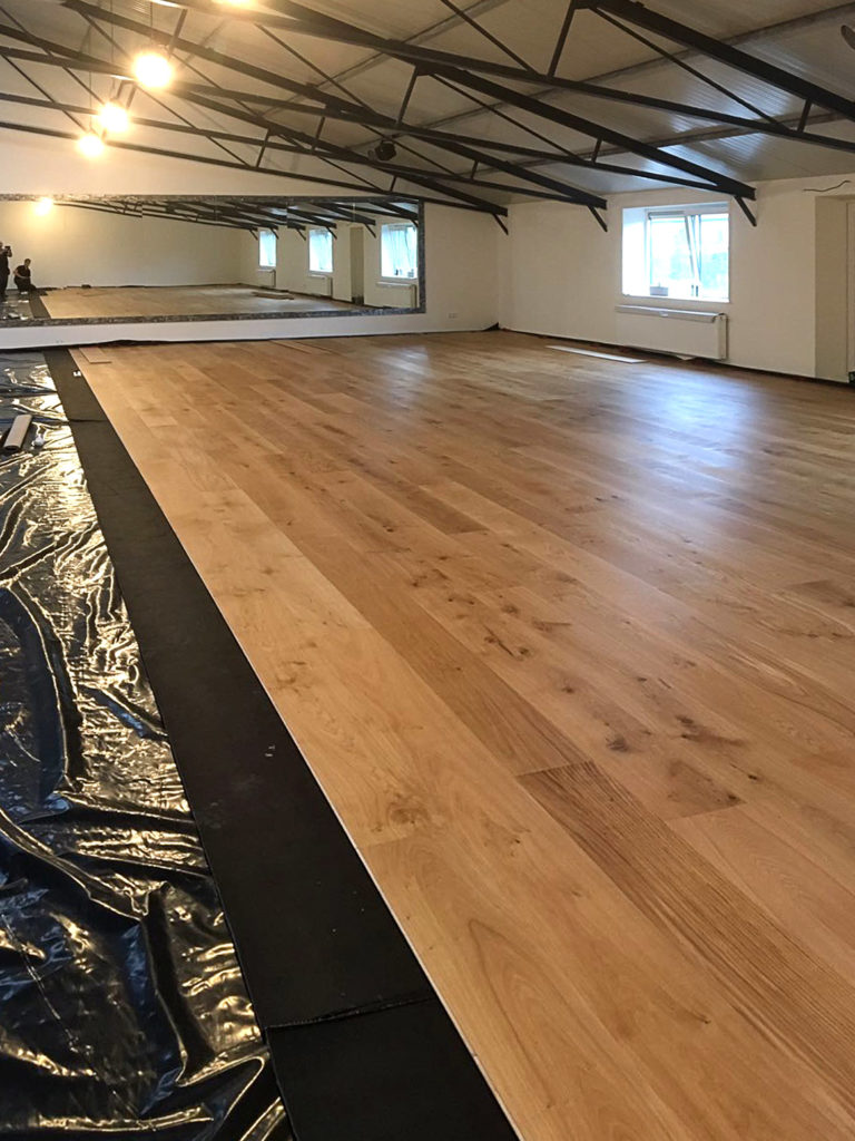 Dance Sport Academy Aalsmeer Eiken DuoPlank 14x240mm olie natuur 2K