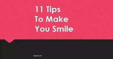 11 Effective Tips to Make You Smile – Sliders