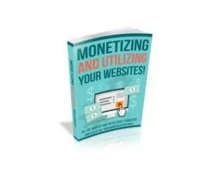 monetizing and utilizing your websites