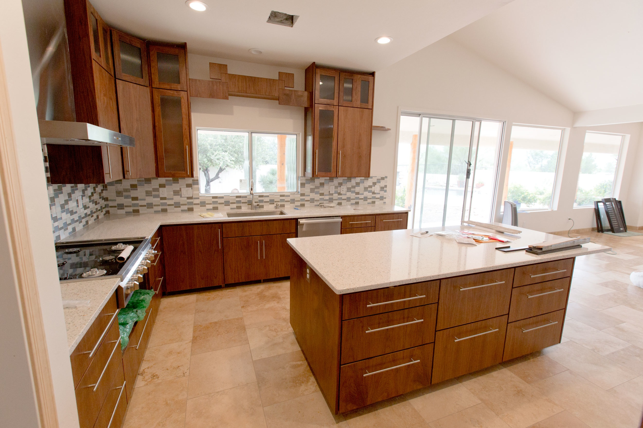 kitchen remodel tucson epoxy flooring in place architecture project photos