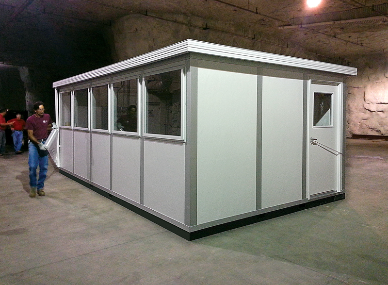 Inplant offices incorporated modular building wall systems for Prefabricated roofing systems