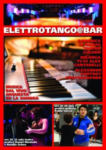 ELETTROTANGO@BAR AL TEATRO GOLDEN
