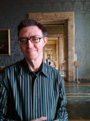 Lo scrittore Tiziano Papagni