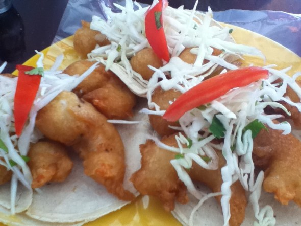 Puerto Morelos Restaurants Guide: Shrimp Tacos