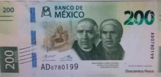 200 peso bill
