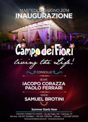 """Inaugurazione """"Campo dei Fiori"""" - 10 Giugno 2014"""