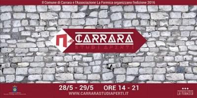 CARRARA STUDI APERTI 2016