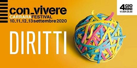 Convivere Carrara Festival Edizione 2020