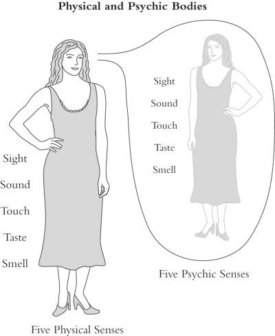 Physical Body versus Psychic Body