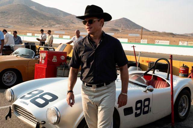 Matt Damon in Twentieth Century Fox's FORD V FERRARI.