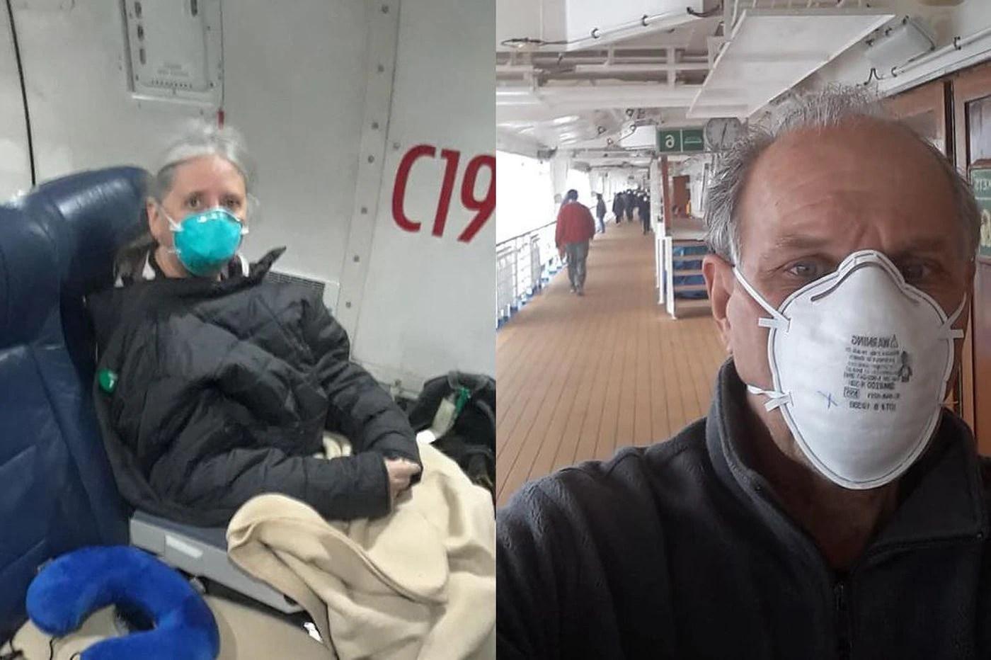 York County couple quarantined for coronavirus at U.S. Air Force ...