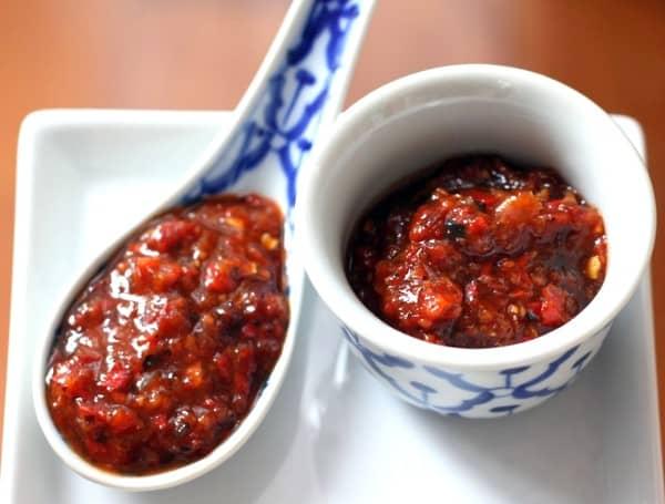 Nam Prik Pao Thai Chili Paste