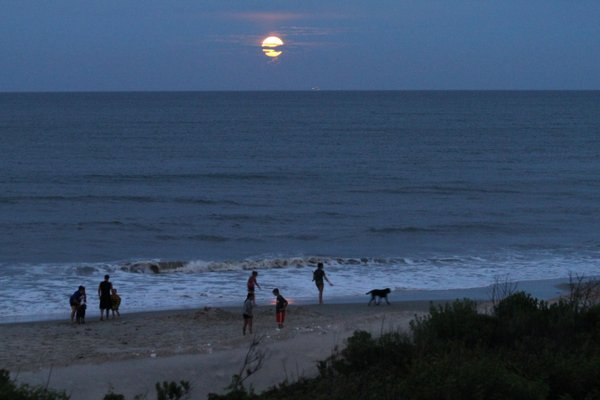 moon rise OBX