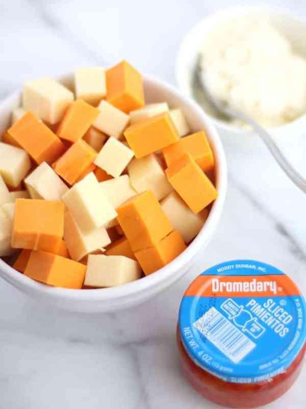 Pimento Cheese Ingredients