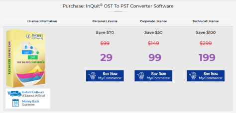 Microsoft OST to PST Converter - - THE SAN GUY
