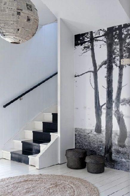 Vijf bijzondere vormen van behang in huis  Inrichting