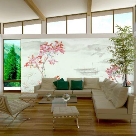 Prachtig Chinees behang in huis  Inrichtinghuiscom