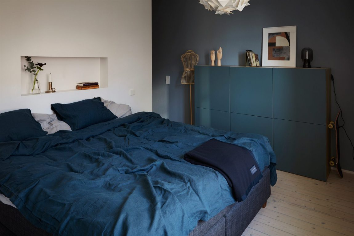 Ikea Slaapkamer Blauw
