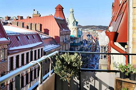 Breed balkon met uitzicht  Inrichtinghuiscom
