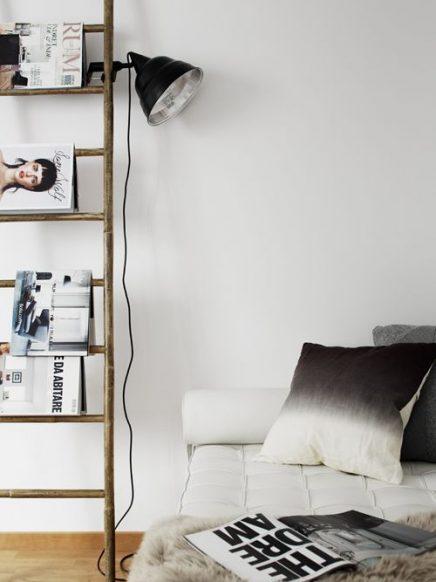 Decoratieve ladders voor in de woonkamer  Inrichtinghuiscom
