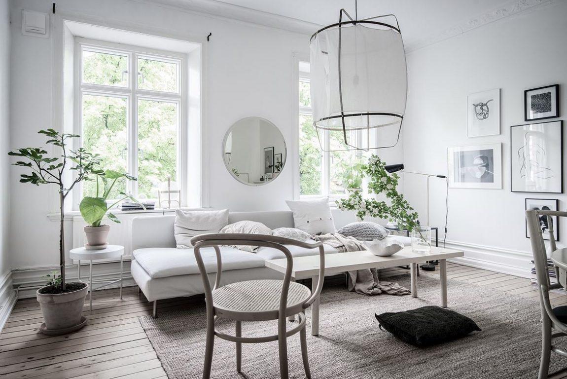 Frisse woonkamer met leuke items  Inrichtinghuiscom