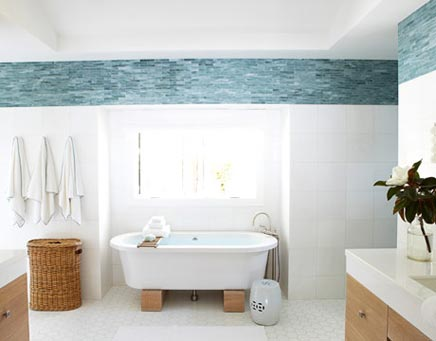 Grote frisse badkamer  Inrichtinghuiscom