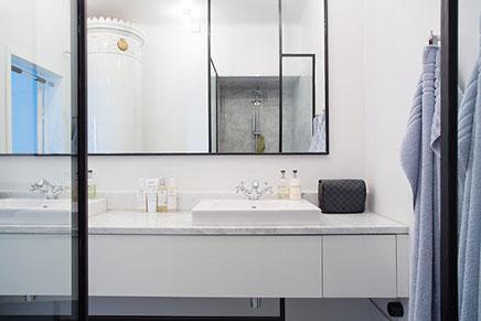 Industrile klassieke chique badkamer  Inrichtinghuiscom