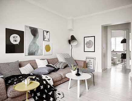 Inrichting van een Scandinavische woonkamer  Inrichting