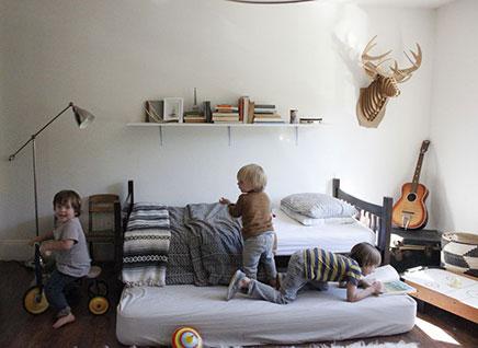 Kinderkamer ideen voor drie jongens  Inrichtinghuiscom