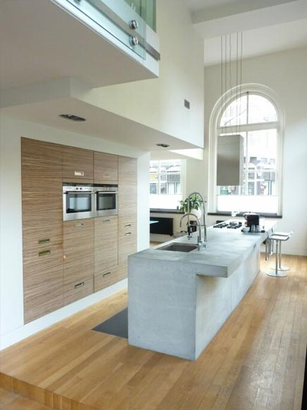 Luxe eigentijds en sfeervol loft appartement in Haarlem