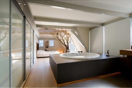 Luxe slaapkamer aan de Keizersgracht  Inrichtinghuiscom