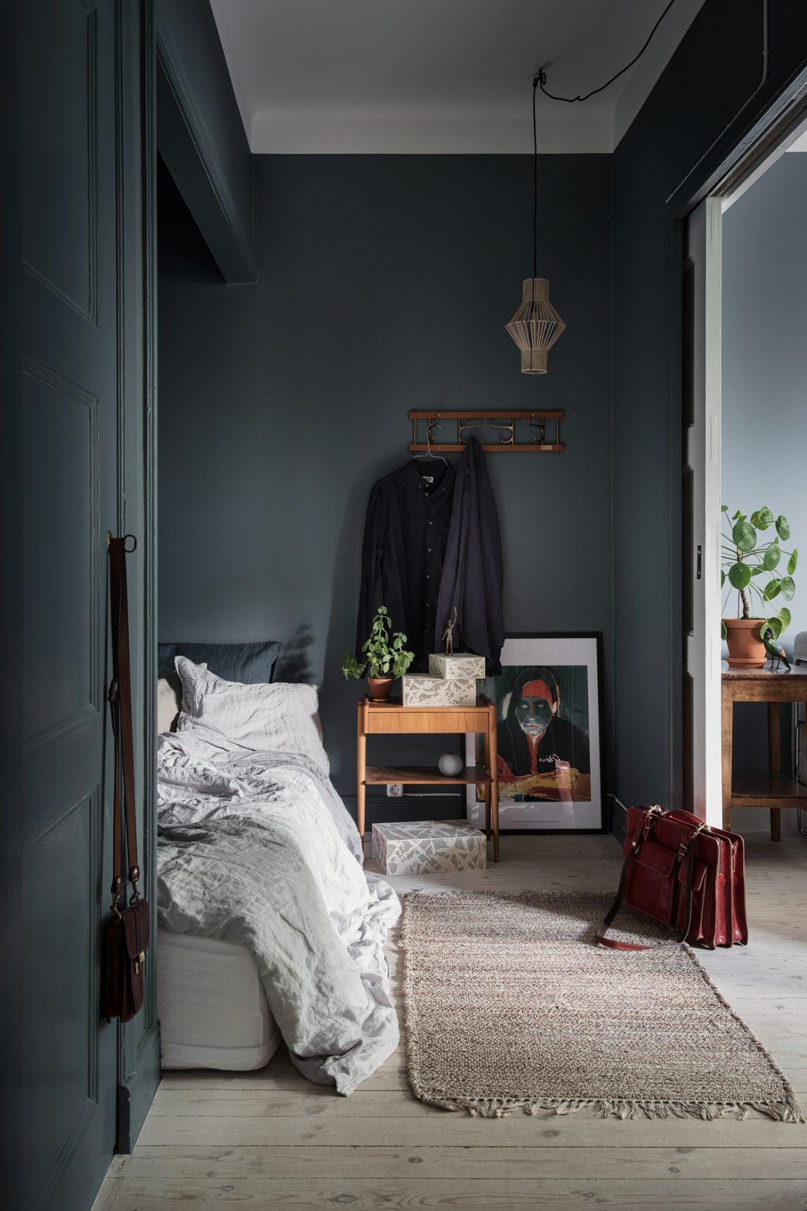 Deze mooie slaapkamer zit verschuild achter prachtige