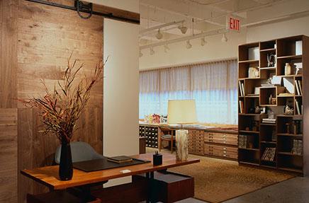 Ontwerp showroom en kantoor combinatie  Inrichtinghuiscom