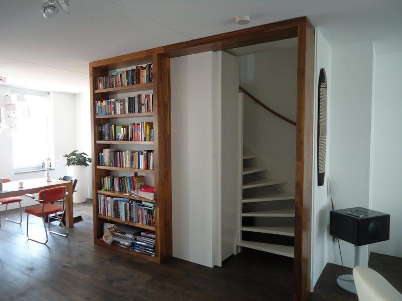 Open trap dichtmaken met deur  Inrichtinghuiscom