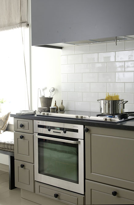 Landelijke keuken interieurontwerpster Christine