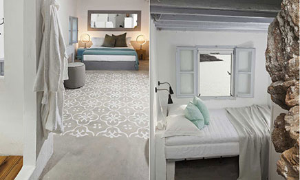 Slaapkamers in Griekse stijl van CocoMat Eco  Inrichting