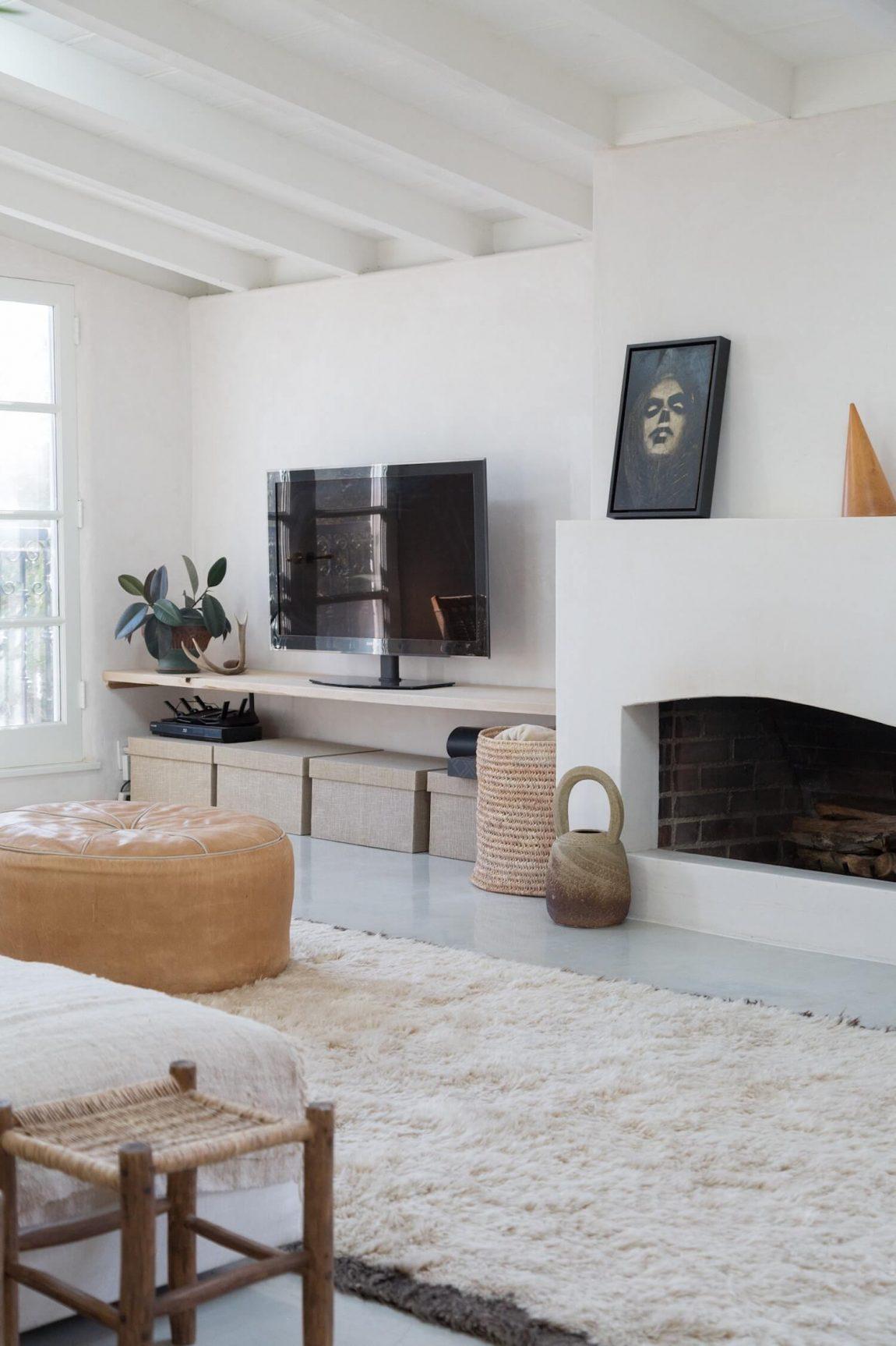 Spaans huis in LA natuurlijke materialen en neutraal