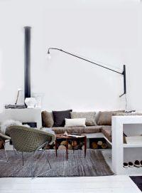 Swing lamp bij de bank | Inrichting-huis.com