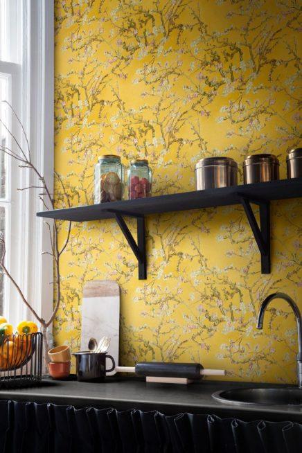3d Interior Wallpaper Hd Van Gogh Behang