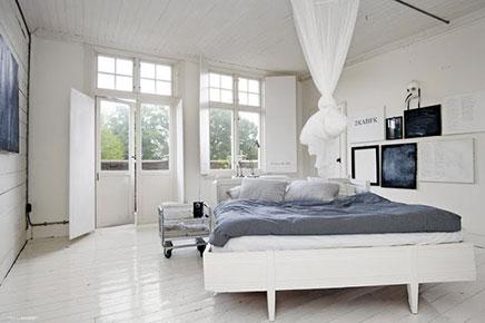 Witte slaapkamer ideen  Inrichtinghuiscom