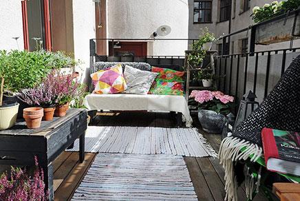 Zonnig en gezellig balkon  Inrichtinghuiscom