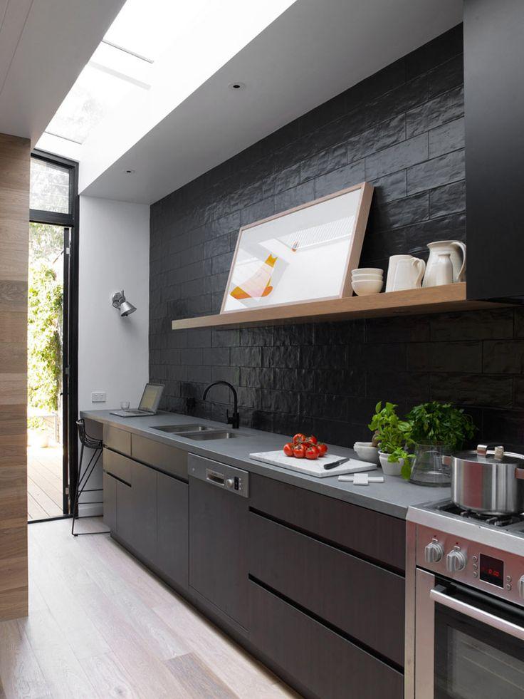 Mooi Een zwarte keuken  Inrichtinghuiscom