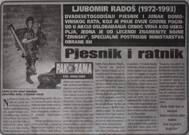 tekst o bojovniku hv stradalom kod GV2.JPG - Grabar-Kitarović odlikovala specijalne jedinice HV-a koja su napadale Gornji Vakuf!