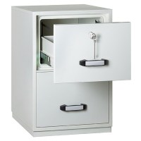 Fire Resistant Filing Cabinet - 2 Drawer - Insafe ...